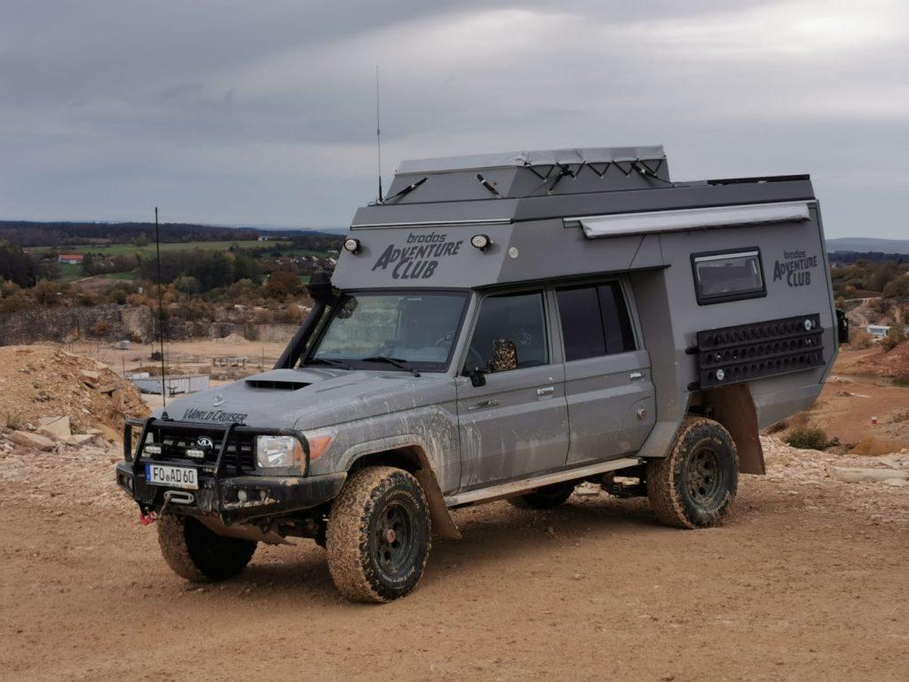 SunLander - unser Toyota Landcruiser Umbau